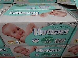 NEW Huggies Baby Wipes Fragrance Free 648 Pack from Fairdinks