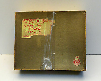 Vintage Puzzle Victory Artistic Wood Made in England Cardinal Wolsey Sir Thomas