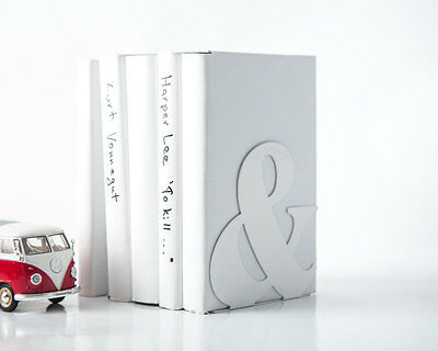 Atelier Article - Gift Steel bookend - Ampersand (White)