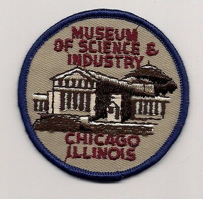 Museum Of Science & Industry, Chicago Illinois Souvenir Patch
