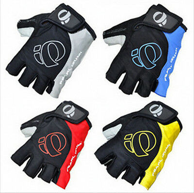 Antiskid Cycling Gloves Mountain Bike Motorcycle Sport Gel Half Finger Gloves