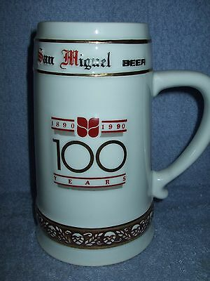 1990 SAN MIGUEL Philippines 100th Year Centennial Commemorative Tankard