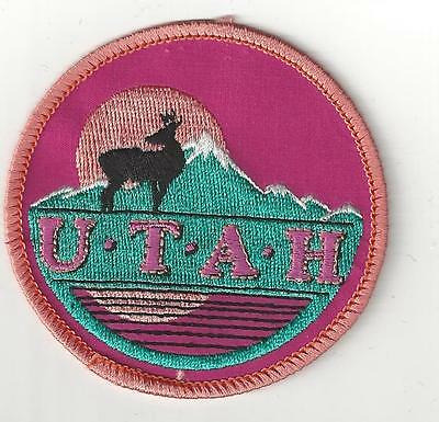 State Of Utah Souvenir Patch - $2.00 Patch