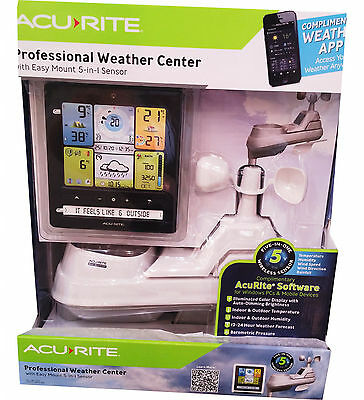 New Acurite Wireless Professional Weather Station 5-in-1
