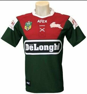 NRL Rugby League South Sydney Rabbitohs Heritage 2014 Jersey size Large RARE