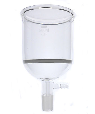 Buchner Funnel with a Sintered Glass Disc 500ml
