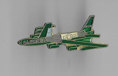 Vintage B-52 Stratofortress Bomber Aircraft old enamel pin