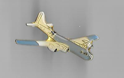 Vintage B-29 Superfortress Bomber Aircraft old enamel pin