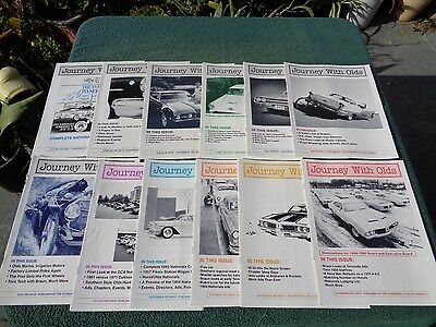 Vintage Journey With Olds Magazine -1993 - All 12 issues.