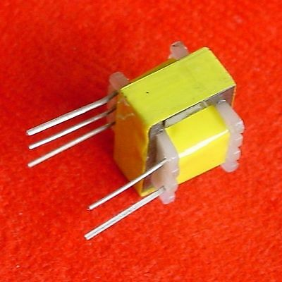 z 100pcs EI-14 Audio Output Transformer 3.5K:32 ohm , 3.5K:8 ohm Speaker e