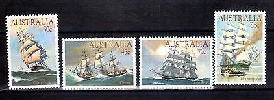 AUSTRALIA 1984 clipper ships mint never hinged