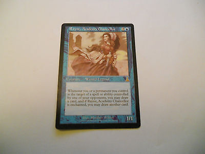 1x MTG Rayne Academy Chancellor-Cancelliere dell'Accademia Magic EDH ING Inglese