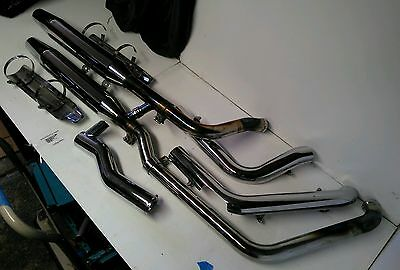 Exhaust system for Harley-Davidson Softail