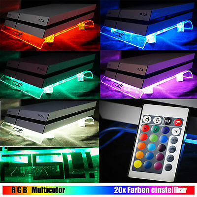 RGB LED USB Design Cooling Fan Fan Stand PS4 Playstation 4 Accessories Controler