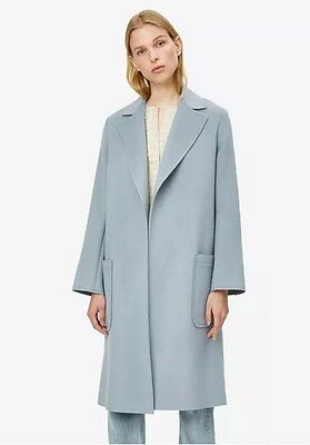 Nwt Helmut Lang Wool Cashmere Belted Coat