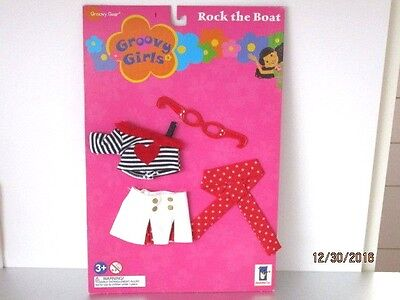 Groovy Girls CLOTHES Rock the Boat Glasses Sailor  New on Card