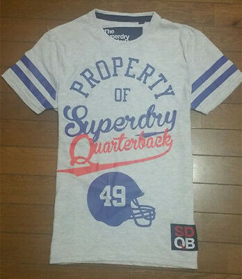 **Superdry** Mens Vintage T Shirt Casual Short Sleeve Crew Neck Size S-2XL