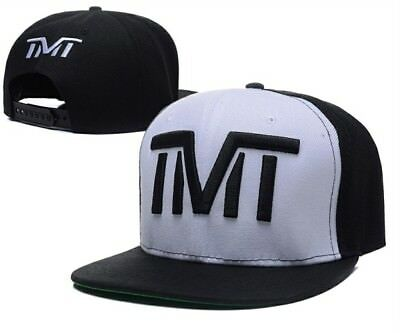TMT The Money Team Cap White Black Snapback Floyd Mayweather