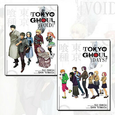 Tokyo Ghoul Series Collection (Tokyo Ghoul:Void, Days)By Shin Towada 2 Books Set