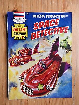 Valiant Picture Library #24 Nick Martin - Space Detective - VG Fleetway
