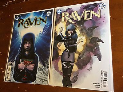 RAVEN #1,2 (2016) DC 1st print unread NM  TEEN TITANS GO!