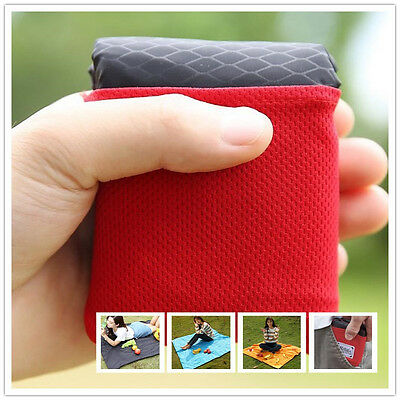 Nylon Picnic Mat Outdoor Garden Camping Picnic Pocket Blanket Pad Mat Useful QUE