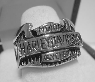 Great Biker Ring Size 9 - Stainless Steel