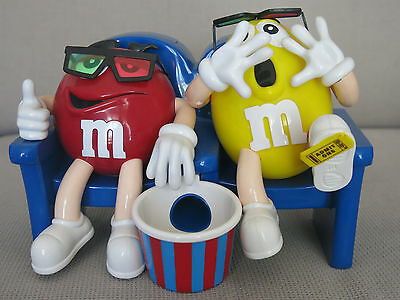 Yellow & Red M&Ms Collectable dispenser