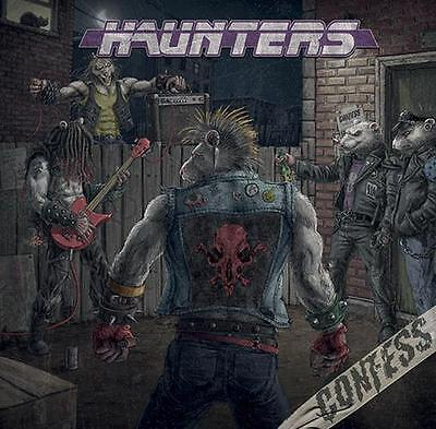 CONFESS - Haunters  -  CD   GLAM METAL   NEW   PRESALE shipped March 1st