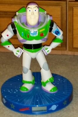 Disney Wesco Toy Story Buzz Lightyear Clock / Ceiling Projecting Clock