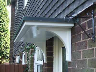 Grp Door Canopy Plus Curved Grp Brackets On Offer At £120