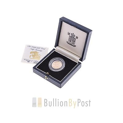 Gold Proof 1992 Half Sovereign Boxed