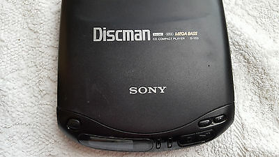 Sony D-133 CD Walkman Discman Personal Stereo Music Compact Disc Player