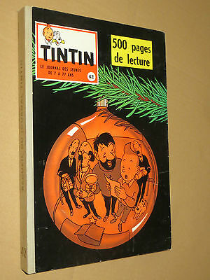 Recueil TINTIN N° 42  Reliure France SUPERBE + complet points TINTIN