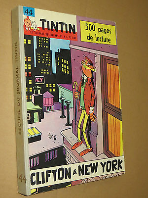 Recueil TINTIN N° 44  Reliure France SUPERBE + complet points TINTIN