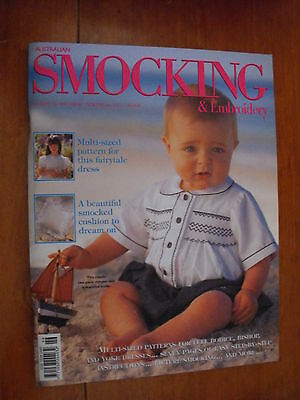 Australian Smocking & Embroidery Magazine - Issue 46 - 1999 - Rare Find