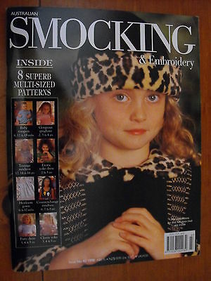 Australian Smocking & Embroidery Magazine - Issue 43 - 1998 - Rare Find