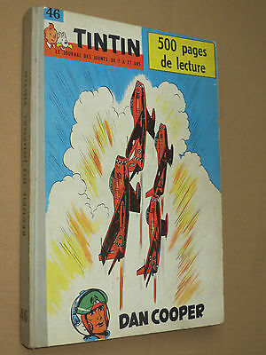 Recueil TINTIN N° 46  Reliure France SUPERBE + complet points TINTIN