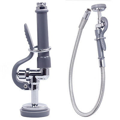 Kitchen Dining Cleaner Pre Rinse Tap Spray with 3-Foot Flexible stainless steel