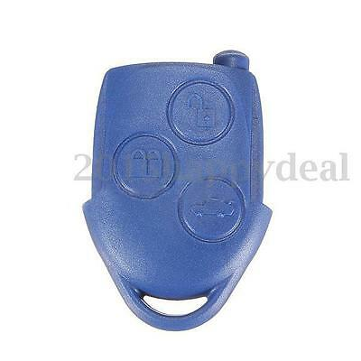 3 Botón Carcasa Funda Llave Mando a Distancia Remoto Key Shell For Ford Transit