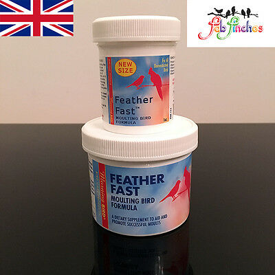 Morning Bird FEATHER FAST Bird Moulting Vitamin Mineral Supplement All Birds
