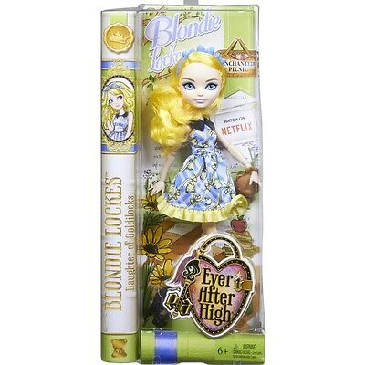 Ever After High Enchanted Picnic Royal Blondie Lockes Doll Brand New Cld86