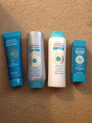 Avon Moroccan Argan Oil Shampoo / Conditioner, leave in Treatment and Hair Mask.