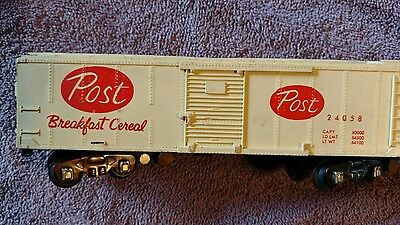 American Flyer vintage Post breakfast cereal 24058 boxcar S-gauge #5