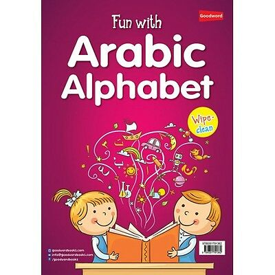 Fun with Arabic Alphabet (Fun Activities for Kids) (Colour PB) (Wipe Clean)