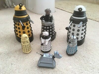 Doctor Who Dalek And K9 Figures