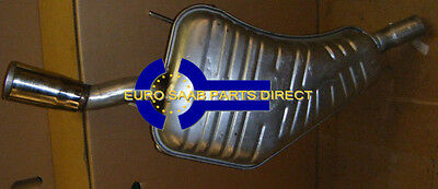 New Saab 9-5 98-2010 Rear Silencer With Stainless Steel Finish 4966925