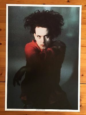 Cure,robert Smith,rare Authentic 1992  Poster