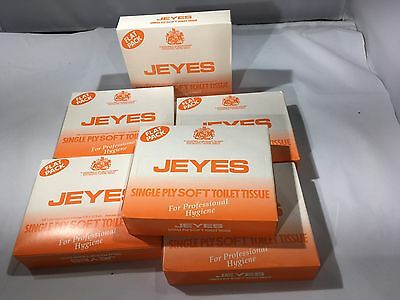 Jeyes Single Ply Soft Toilet Tissue Pack by Jeyes Cleaning Products