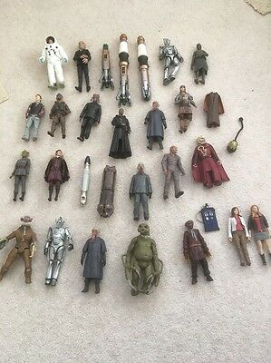 30 Piece Doctor Who Figure Collection